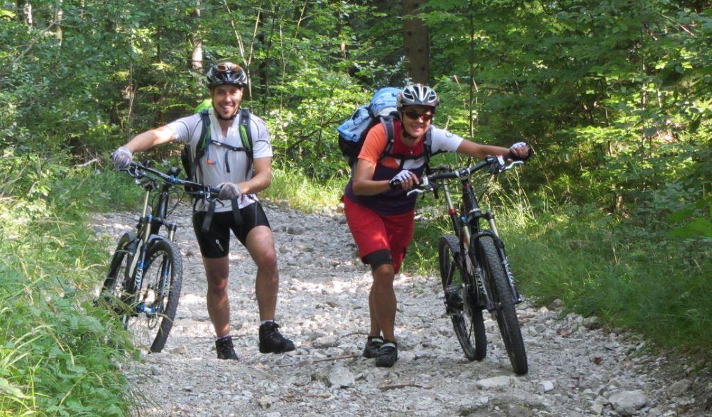 1. Etappe, Kochel - Seefeld<br>60 km, 1330 Höhenmeter