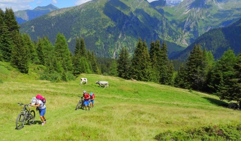 3. Etappe, Stubaital - Sterzing<br>62 km, 2500 Höhenmeter