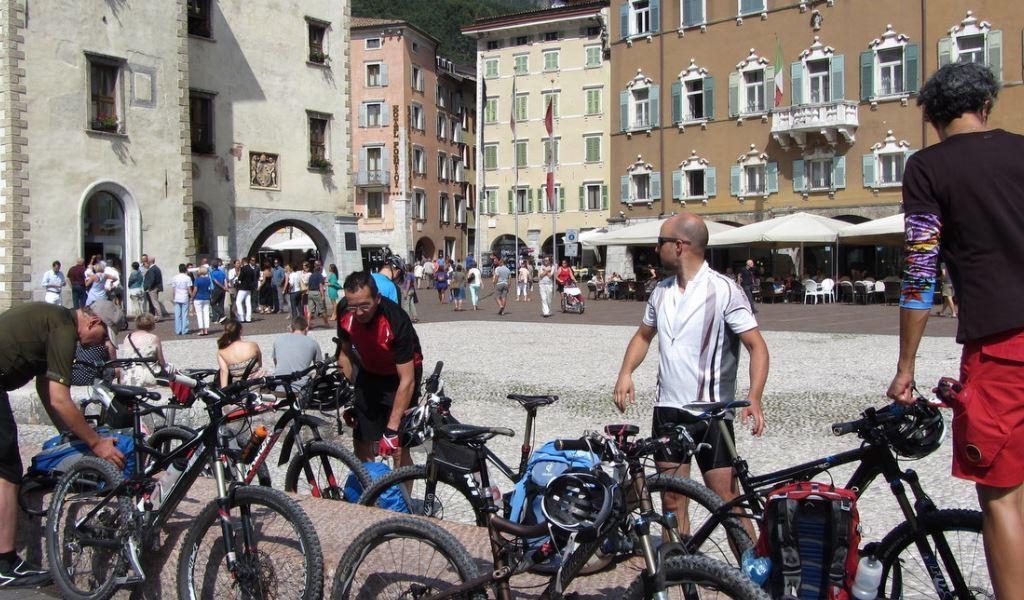7. Etappe, Ponte Arche - Riva del Garda<br>24 km, 555 Höhenmeter